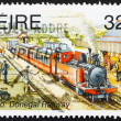 Postage stamp Ireland 1995 Co. Donegal Railway - Stock Photo