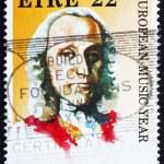Постер, плакат: Postage stamp Ireland 1985 Giuseppe Domenico Scarlatti Composer