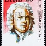 Постер, плакат: Postage stamp Ireland 1985 Johann Sebastian Bach Composer