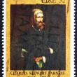 Stock Photo: Postage stamp Ireland 1991 Charles Stewart Parnell, Politician