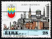 Znaczek irlandii 1988 miasta dublin — Zdjęcie stockowe