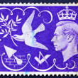Postage stamp GB 1946 King George VI — Stock Photo #9464327