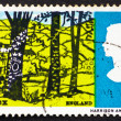 Postage stamp GB 1966 Landscape near Hassock, Sussex — Stock Photo #9464364