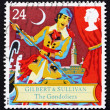 Stock Photo: Postage stamp GB 1992 Scene from comic opera