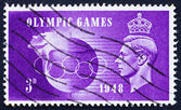 Postage stamp GB 1948 King George VI — Stock Photo