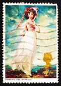 Postage stamp GB 1968 Pinkie by Sir Thomas Lawrence — Stock Photo