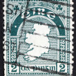 Postage stamp Ireland 1922 Map of Ireland — Stock Photo