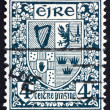 Postage stamp Ireland 1923 Coat of Arms, Ireland — Stock Photo