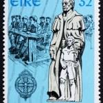Постер, плакат: Postage stamp Ireland 1994 Edmund Ignatius Rice Philanthropist