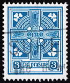 Postage stamp Ireland 1923 Celtic Cross — Stock Photo