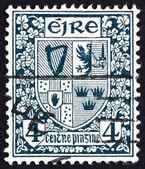 Postage stamp Ireland 1923 Coat of Arms, Ireland — Stock Photo