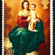 Stock Photo: Postage stamp GB 1968 Madonnand Child, by Murillo