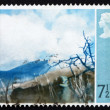 Postage stamp GB 1971 Deer's Meadow, by Thomas Carr — Stock Photo