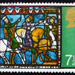 Stock Photo: Postage stamp GB 1971 Journey of the Kings