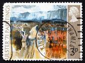 почтовая марка гб 1971 горной дороге, в т. п. флэнаган — Стоковое фото