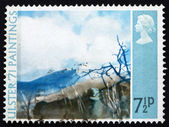 Postage stamp GB 1971 Deer's Meadow, by Thomas Carr — Photo