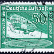 Postage stamp Germany 1936 Airship Gondola — Stock Photo