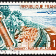 Postage stamp France 1962 Paris Beach, Le Touquet, France — Stock Photo