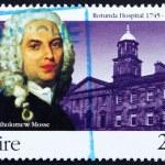 Постер, плакат: Postage stamp Ireland 1995 Dr Bartholomew Mosse Rotunda Hospit