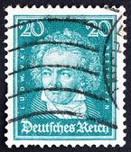 Znaczek niemcy 1926 ludwiga van beethovena — Zdjęcie stockowe