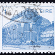 Stock Photo: Postage stamp Ireland 1983 Central Pavilion, Dublin Botanical Ga