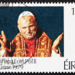 Postage stamp Ireland 1979 Pope John Paul II — Stock Photo