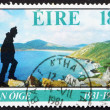 Postage stamp Ireland 1981 Hiking - Stock Photo
