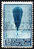 Postage stamp Belgium 1992 Auguste Piccard's Balloon — Stock Photo