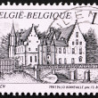 Stock Photo: Postage stamp Belgium 1993 Castle Cortewalle, Beveren, Belgium