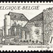 Stock Photo: Postage stamp Belgium 1993 Castle Raeren, Belgium