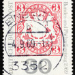 Postage stamp Germany 1969 Reproduction of old Bavarian stamp — Stock Photo