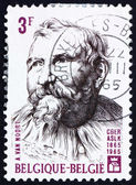 邮票比利时 1965年亚当 van noort,佛兰芒画家 — 图库照片