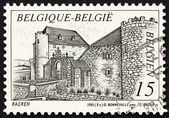 Postage stamp Belgium 1993 Castle Raeren, Belgium — Stock Photo