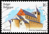 Frimärke belgien 1994 kyrkan st peter, bertem — Stockfoto