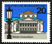 Postage stamp Germany 1964 National Theater, Munich — Stock Photo