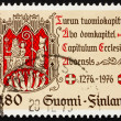 Postage stamp Finland 1976 Turku Chapter Seal — Stock Photo #9648690