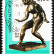 Royalty-Free Stock Photo: Postage stamp Finland 1994 Muse, Sculpture by Waino Aaltonen