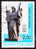 Postage stamp Finland 1994 Peace, Sculpture by Waino Aaltonen — Stock Photo