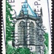 Postage stamp France 1971 Sainte Chapelle, Riom, France — Stock Photo #9674040
