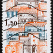 Postage stamp France 1980 View of City of Cordes, France — Stock Photo #9674120