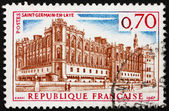Postage stamp France 1967 Chateau Saint Germain en Laye — Stock Photo