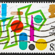 Stock Photo: Postage stamp GB 1977 Steroids Conformational Analysis