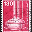 图库照片: Postage stamp Germany 1982 Brewery