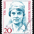Postage stamp Germany 1988 Cilly Aussem, Tennis Champion — Stock Photo