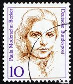 Postage stamp Germany 1988 Paula Modersohn-Becker, Painter — Stock Photo