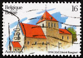 Postage stamp Belgium 1994 Church of St. Gery's, Aubechies — Stock Photo
