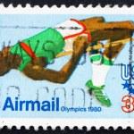 Postage stamp USA 1979 High Jump — Stock Photo