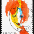 Stock Photo: Postage stamp Belgium 1994 MToute Belle, Painting by Serge Van