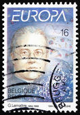 Postage stamp Belgium 1994 Abbe Georges Lemaitre — Stock Photo