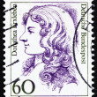 Stockfoto: Postage stamp Germany 1987 DorotheErxleben, physician